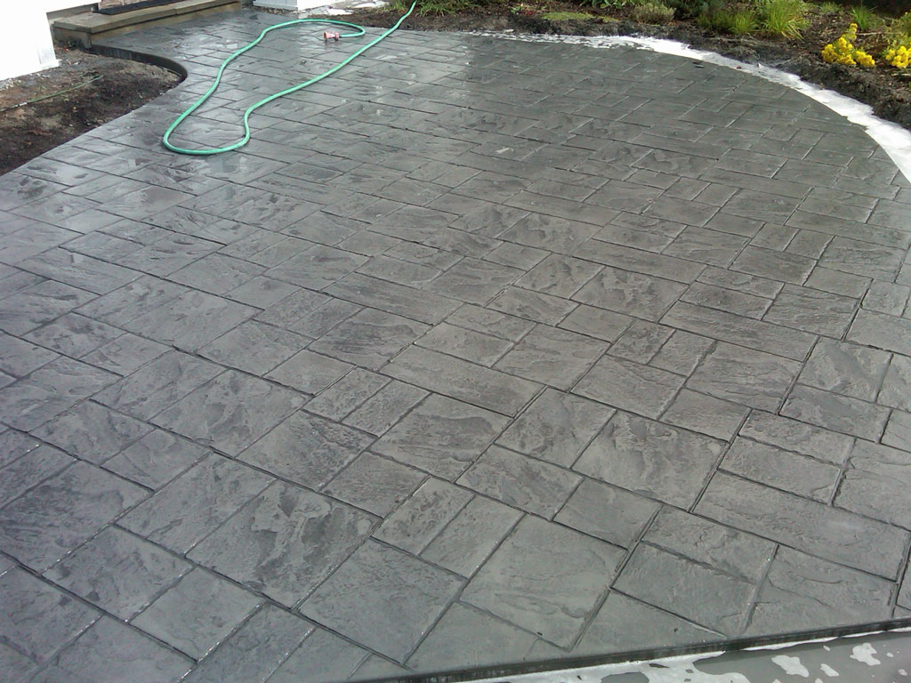 Stamped Concrete Design & Installation