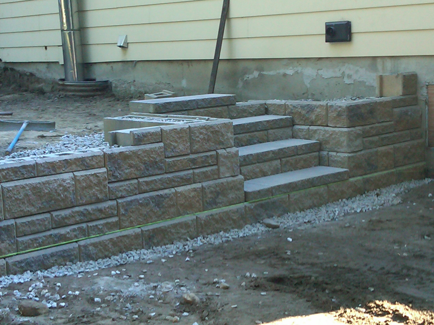 Retaining Wall Installation & Design